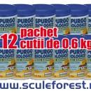 Pachet 12 buc - Bioactivator biologic SPURGO BIOLOGICO SARATOGA pentru curatat fose septice - 0.6 kg
