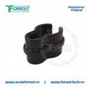 Consola fixare cablu acceleratie pe tija coaselor Husqvarna 125R, 128R, 135R, 323R