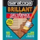 Lac lucios pentru lemn BRILLANT culoare STEJAR DESCHIS - 750 ml