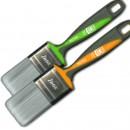 Pensula SAURO® MUTIIUSO cu peri fibra Matrix Silver - latime 60mm