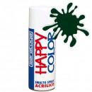 """Vopsea spray """"HAPPY COLOR"""" acrilic VERDE MUSCHI RAL 6005 MAT 400ml"""