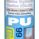 Adeziv sigilant elastic GRI pentru constructii FLEXEDIL 66 - 300ml