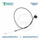 Cablu acceleratie ptr. masina de tuns gazonul Husqvarna LC153S