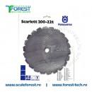 """Disc taiere arbusti SCARLETT 200 mm, 22 dinti, 1"""" (25.4mm) - Husqvarna"""