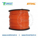 Fir motocoasa Stihl 2.4 mm (damil) la rola 253m | SculeForest.ro