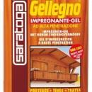 Gel impregnant pentru lemn - GELLEGNO - 750ml - nuanta NUC DESCHIS