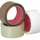 Banda adeziva MARO din polipropilena pentru ambalare - 50m x 50mm