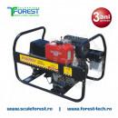 Generator sudura trifazic 6.5 kVA Energy 220 WTD, motor Yanmar, diesel