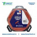 Rola fir trimmy 3.0mm x 48m Whisper Twist Gri