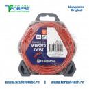 Rola fir trimmy 2.4mm x 12m Whisper Twist Gri