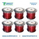 Rola fir trimmy 3.0mm x 240m Round Husqvarna - pachet de 6 role
