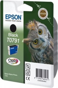 Cartus cerneala Epson T0791 Black, capacitate mare
