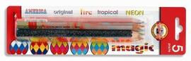 Set 5 creioane mina multicolora Koh-I-Noor Magic