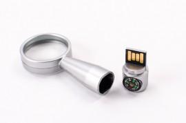 USB personalizabil in forma de lupa FS44