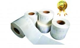 Etichete compatibile Dymo 11353, 25x13mm, 1000buc/rola, albe, adeziv permanent