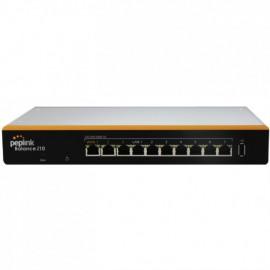 Router Dual-WAN (2 WAN) 2xGbE WAN ports, 7xGbE LAN ports, Peplink 210