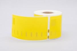 Etichete compatibile Dymo 99019, 190 x 59mm, 110buc/rola, galbene