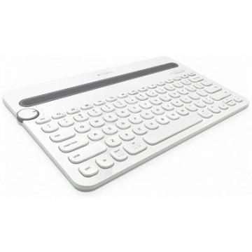 LOGITECH Bluetooth® Multi-Device Keyboard K480 WHITE