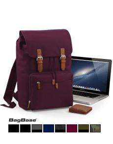 Rucsac Laptop Vintage personalizabil BagBase