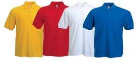 Tricou bumbac Polo, diverse culori, personalizabil