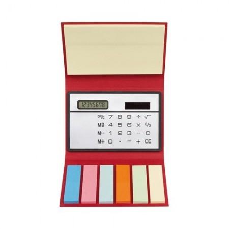 Memo box cu calculator si notite adezive personalizabila