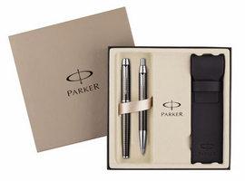Set stilou + pix Parker IM Premium Gun cu etui