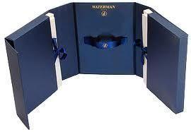 Set stilou + pix Waterman Expert negru mat in caseta corespondenta Cadou