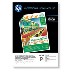 Hartie A4 foto HP Professional Glossy Laser Photo Paper A4, 200 g/mp, 100 coli/top