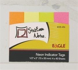 Notite adezive index Eagle 4 culori/set