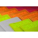 Caiet A5 mate culori neon