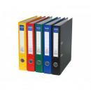 Biblioraft plastifiat colorat, cotor 5 cm