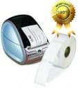 Etichete plastic semitransparente pentru adrese, compatibile Dymo LW, 89x36 mm, 260 buc/rola - 99013
