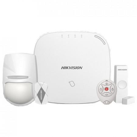 Kit sistem de alarma Wireless(868Mhz), GPRS, LAN-WIFI , RF Card - HIKVISION