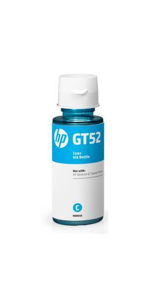 Cartus rezerva cerneala HP GT52 M0H54AEE Cyan 8K