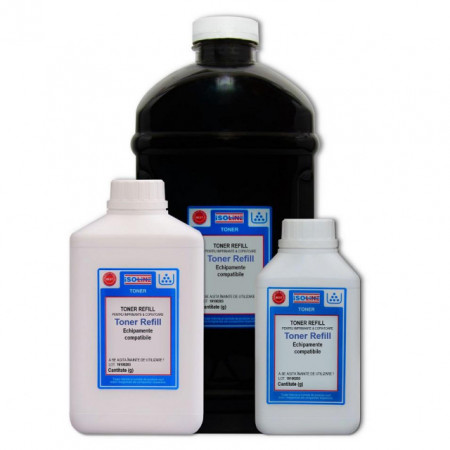 Toner refill HP CF217A 17A CF230A 30A / CF230X 30X CRG-051 CRG-047 1000g