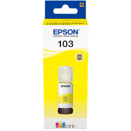 Cartus cerneala Yellow Epson 103 C13T00S44A 65ml Originala