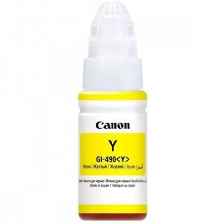 Cartus rezerva cerneala Canon GI-490Y Yellow 70ml