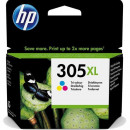Cartus original HP 305 3YM63AE color 240 pagini