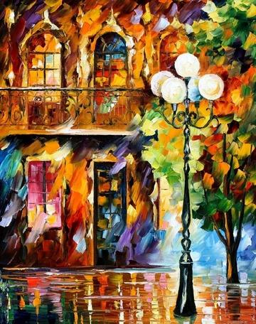 Original Oil Paintings  Leonid Afremov