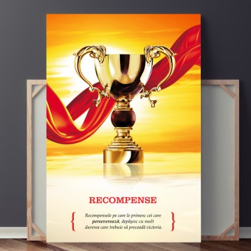 Poze Tablou Motivational RECOMPENSE OPO733