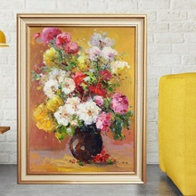 Tablou Canvas+Rama Vaza cu Flori TRD14