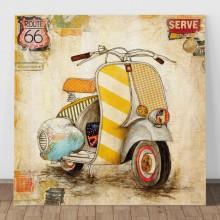 Tablou Motoreta Vintage OCC8
