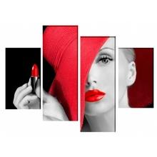Multicanvas Extreme Fashion Girl mst1571