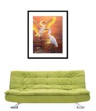 Poster cu rama Dansul Cocostarcilor