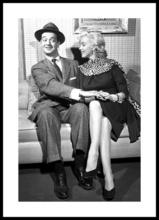 Poster inramat Marilyn Monroe 4