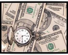 Poster timpul inseamna bani 01