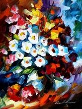 Reproducere Leonid Afremov - Florile dragostei