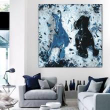 Tablou Abstract Cai Alergand HS110