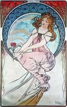 Tablou canvas Alphonse Mucha 021