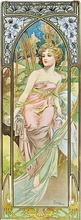 Tablou canvas Alphonse Mucha 027